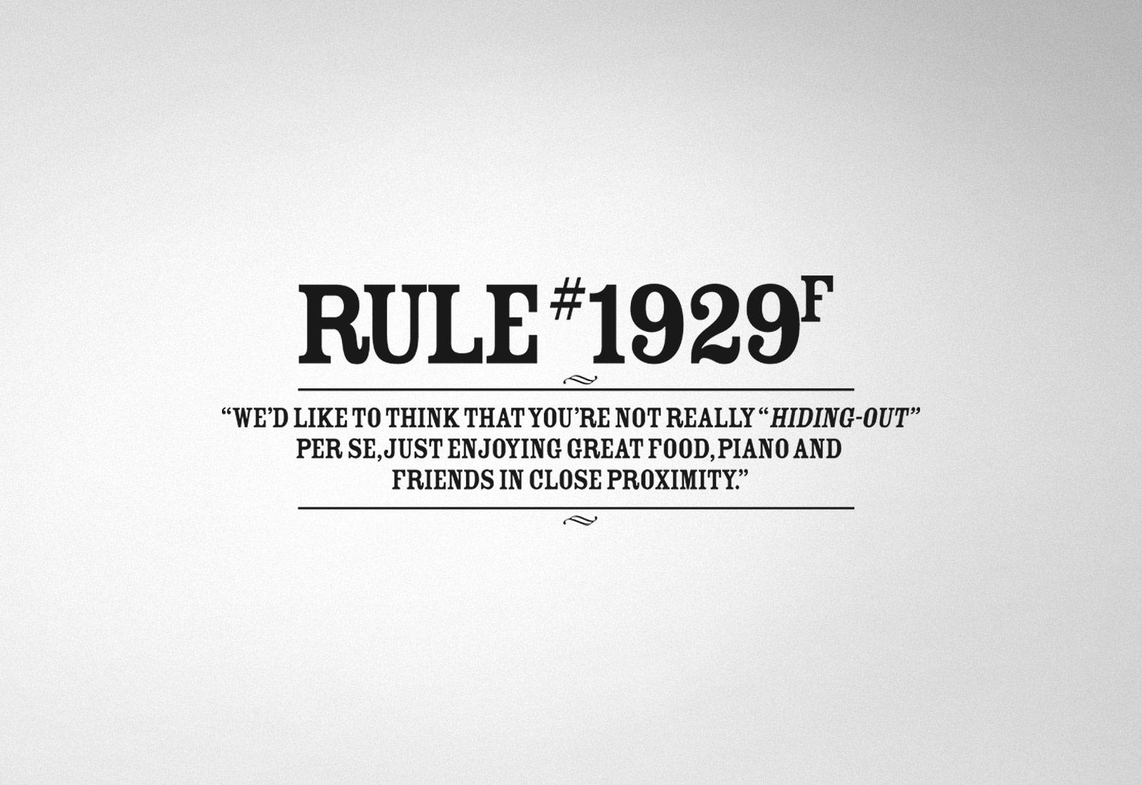 Rule 1929F