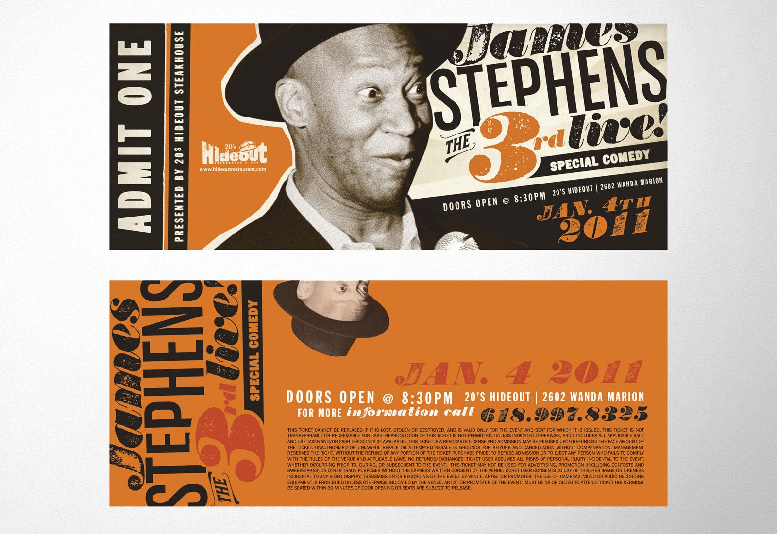 Hideout Steakhouse James Stephens III