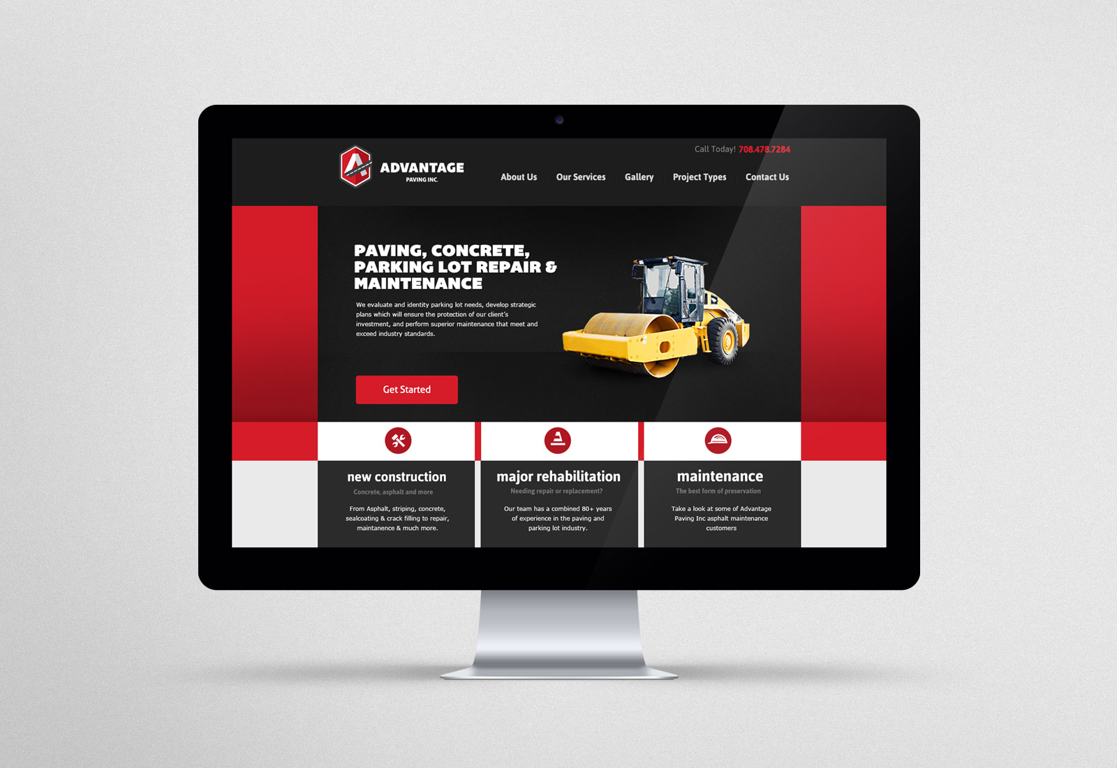 Advantage Paving Website