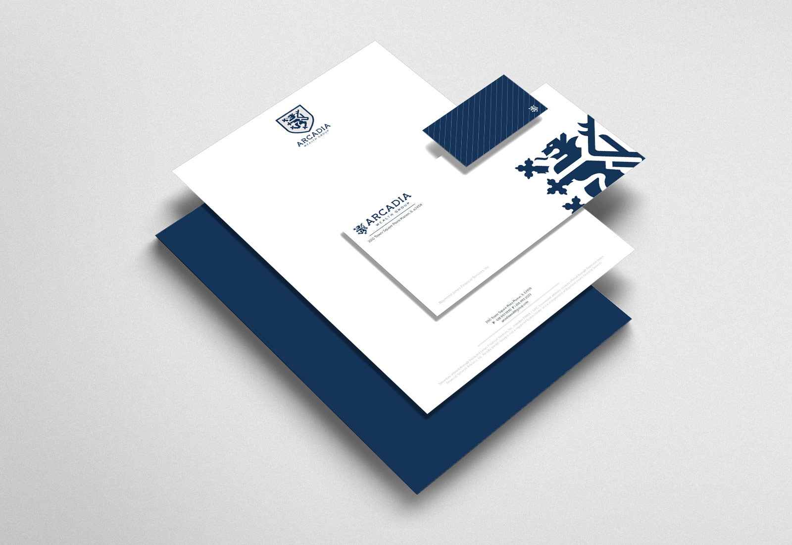 Arcadia Wealth Group Stationary System