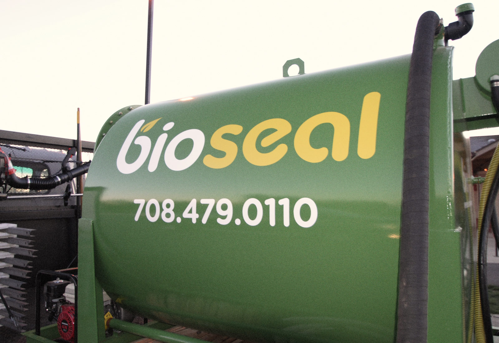 BioSeal USA Asphalt Tanker Truck