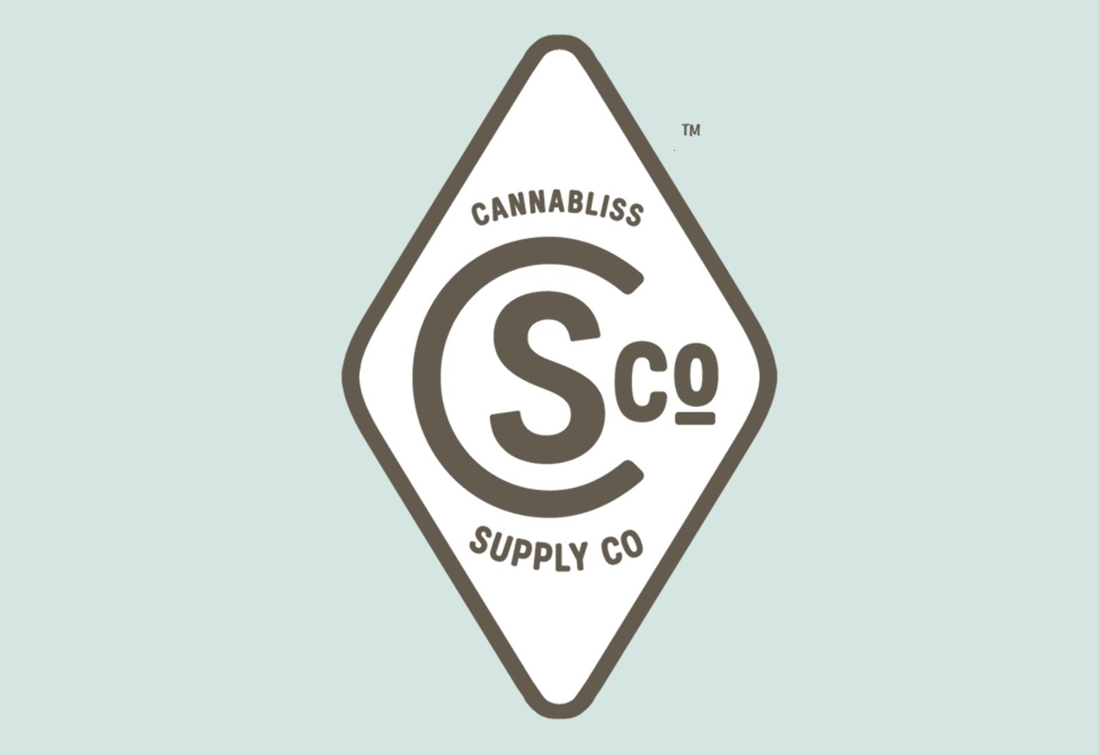 Logo Design for Marijuana Dispensary Cannabliss Version 3
