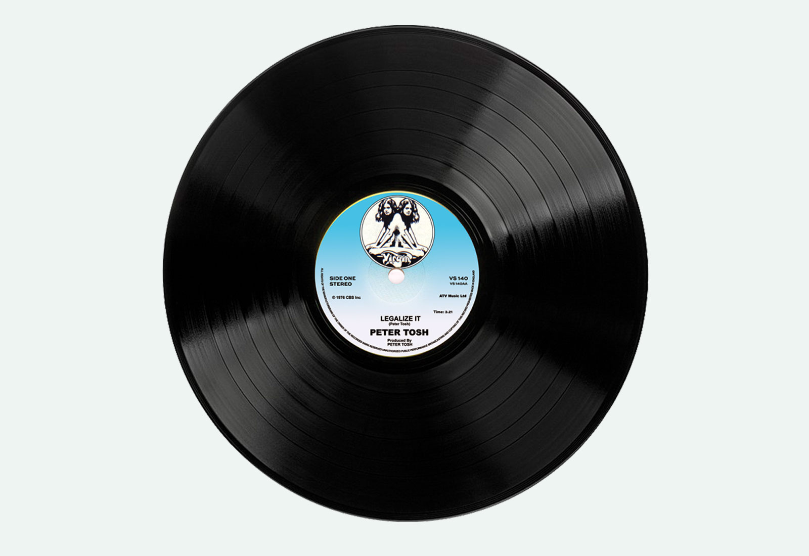 Vinyl Record Peter Tosh Legalize It