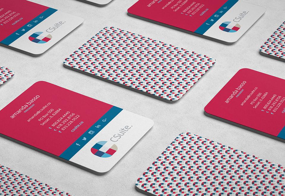 Csuite Business Card Design View 1