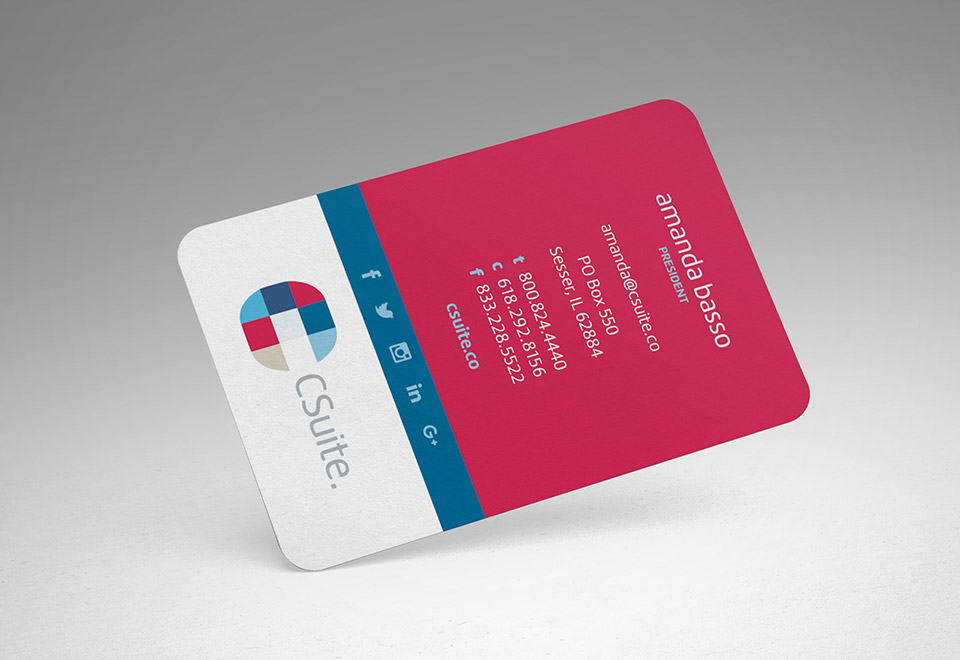 Csuite Business Card Design View 3