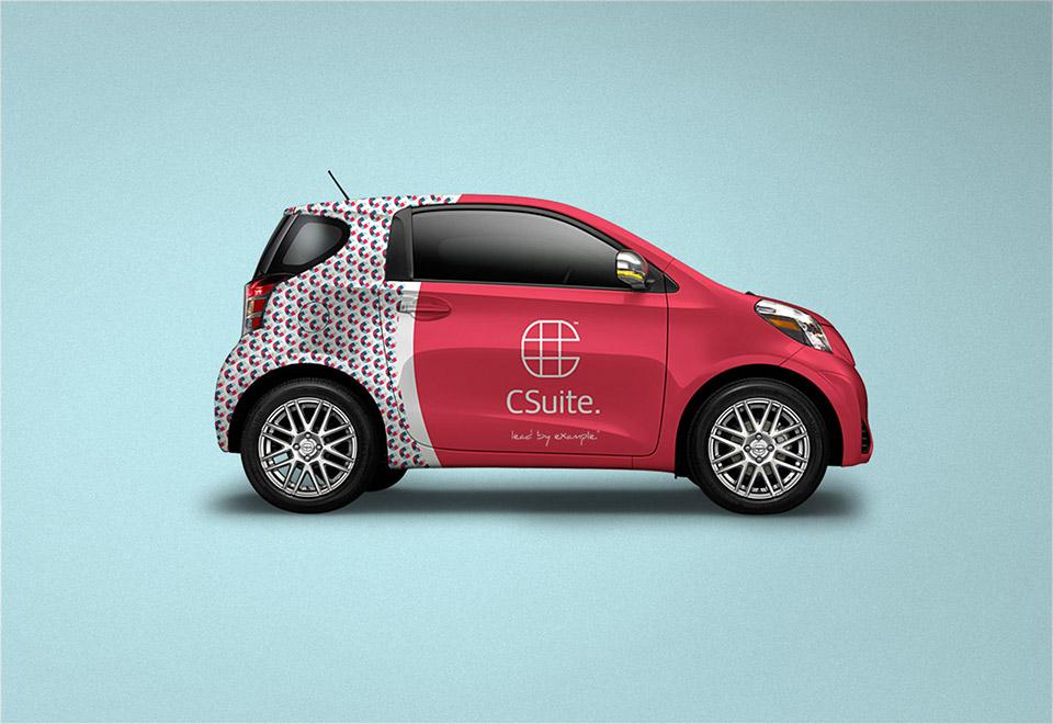 Csuite Car Wrap Design