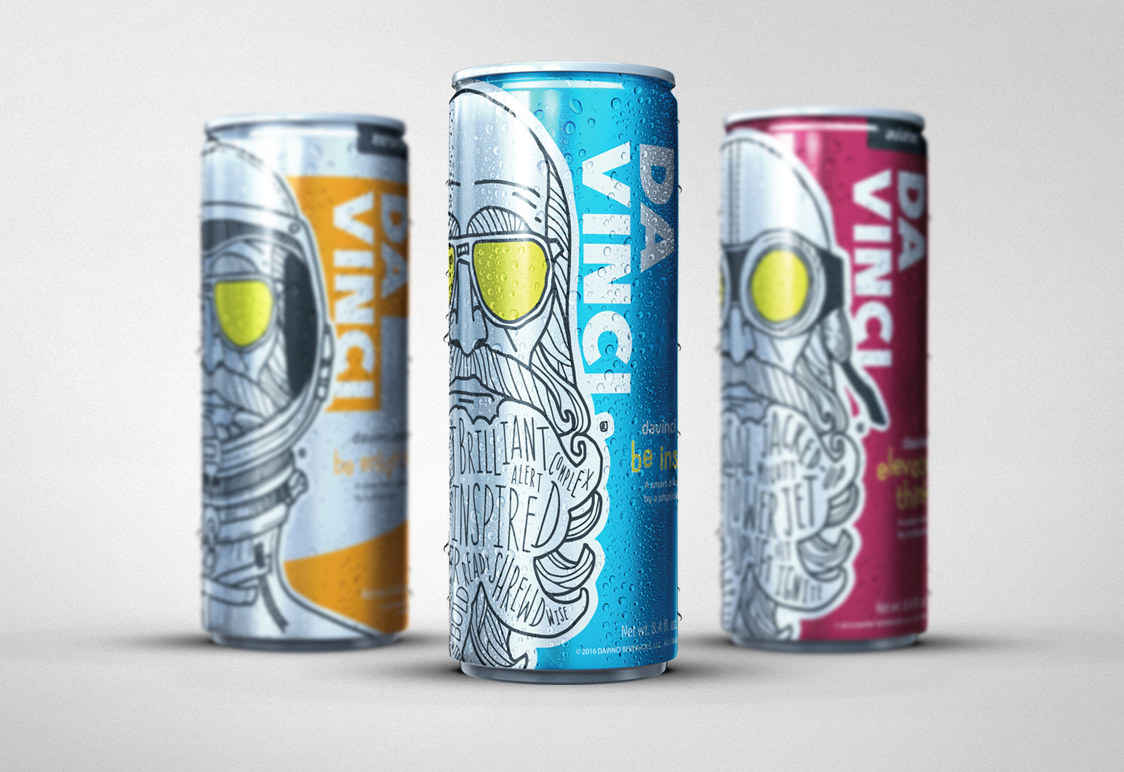 Davinci Smart Drink Can Design