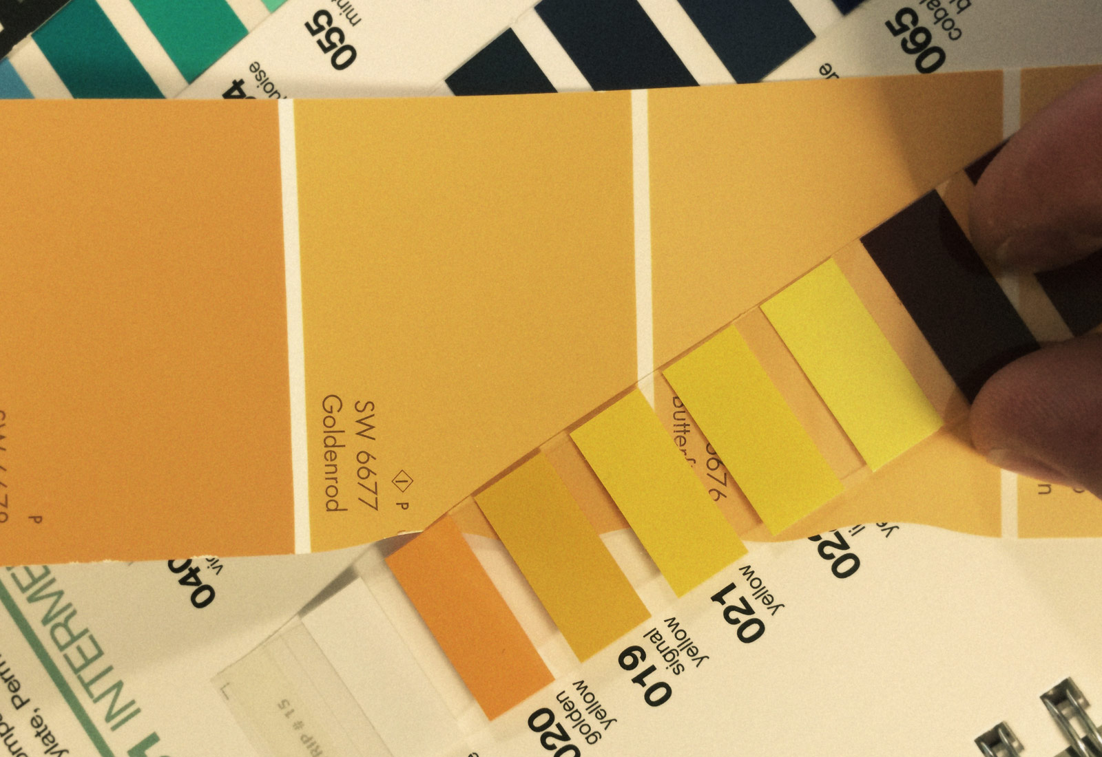 Color Swatches for Global Brew