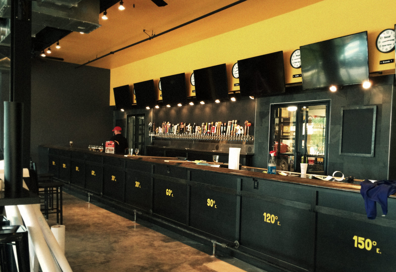 Global Brew Interior