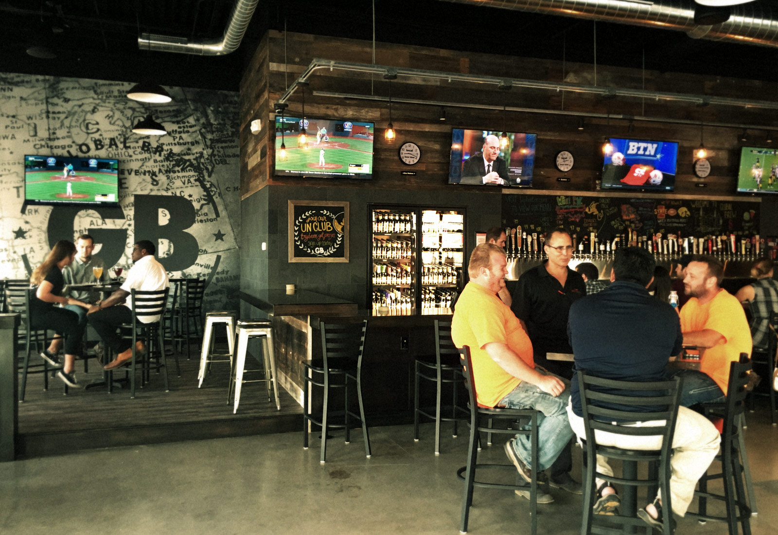 Global Brew Logo West Des Moines Iowa Interior