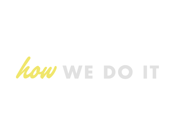How We Do It Image