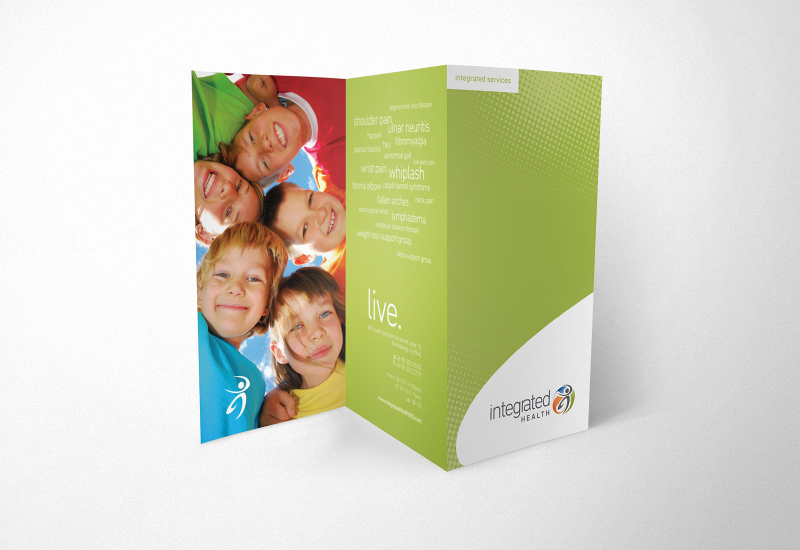 Integrated Health Of Southern Illinois Brochure Design 3