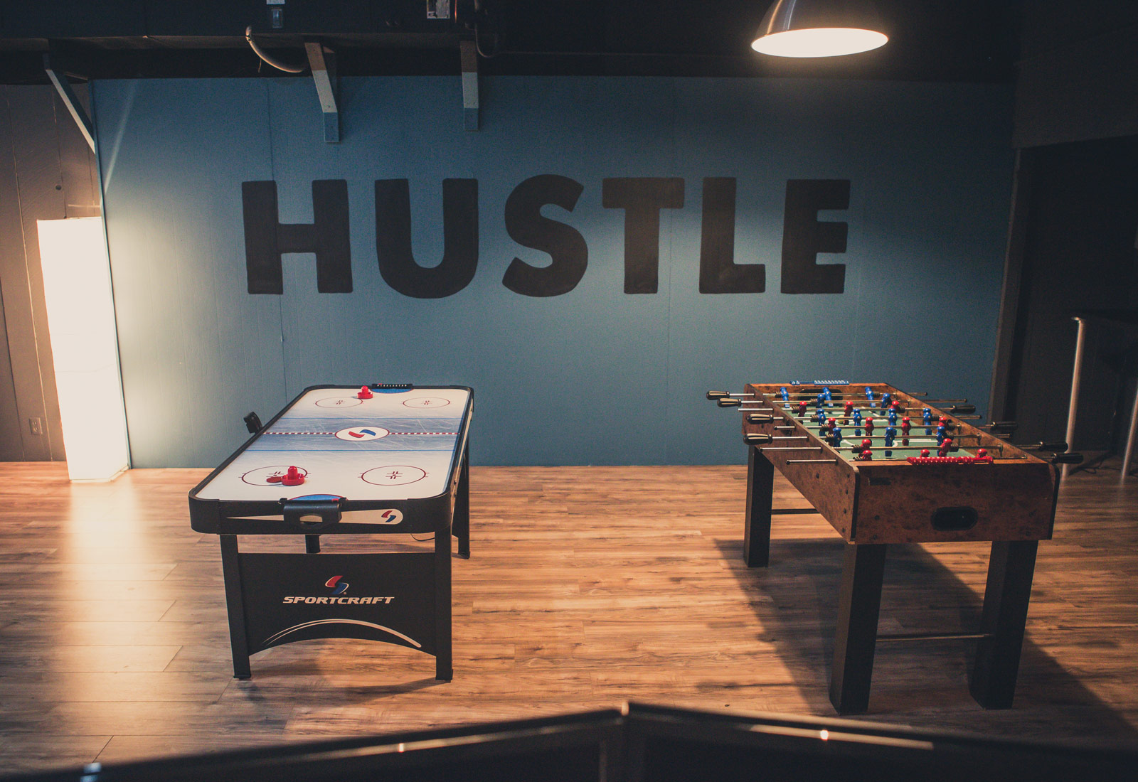 James Arthur Design Co Studio Foosball and Air Hockey Table