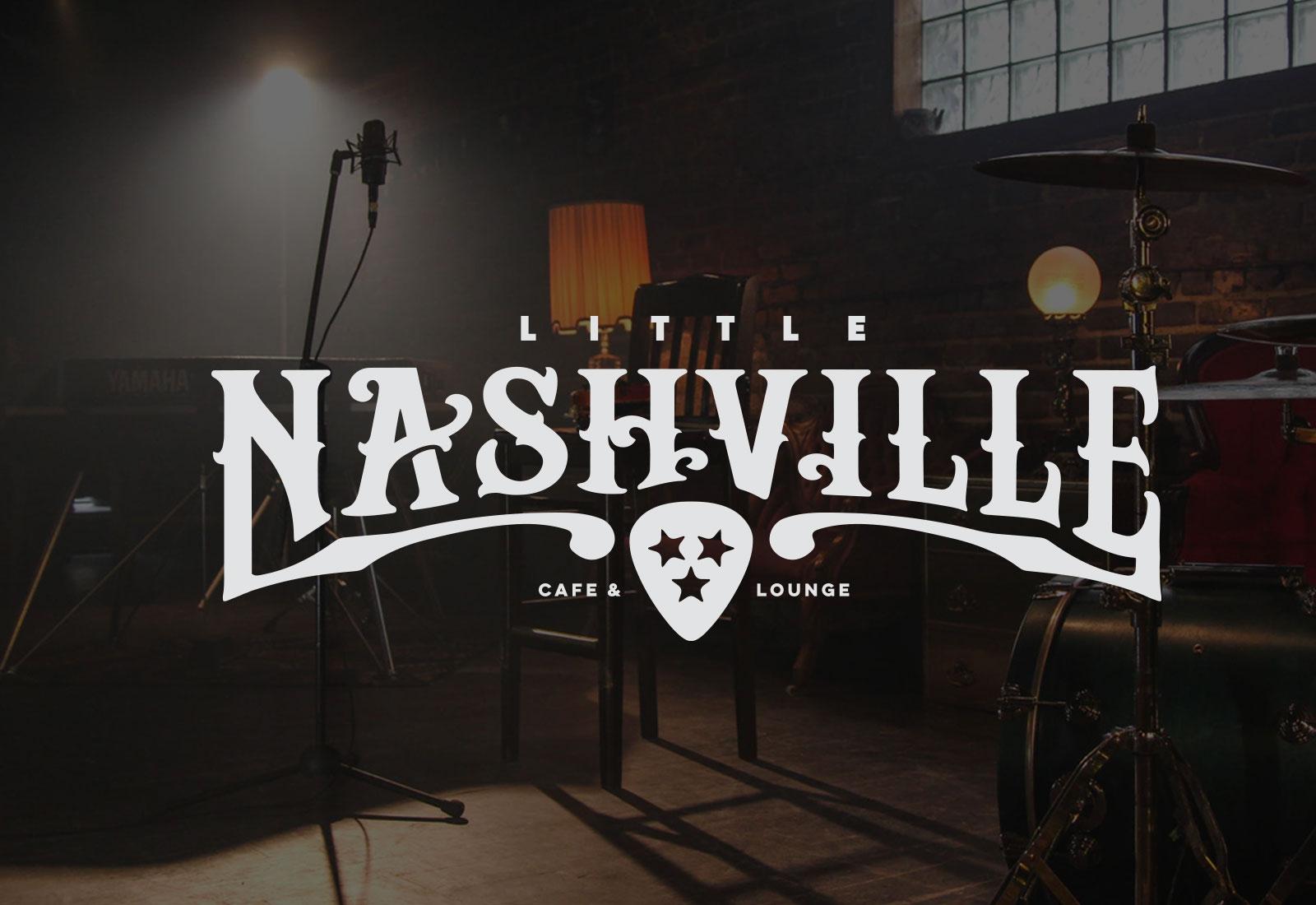 Little Nashville CustomLogo & Brand Design for Music Venue