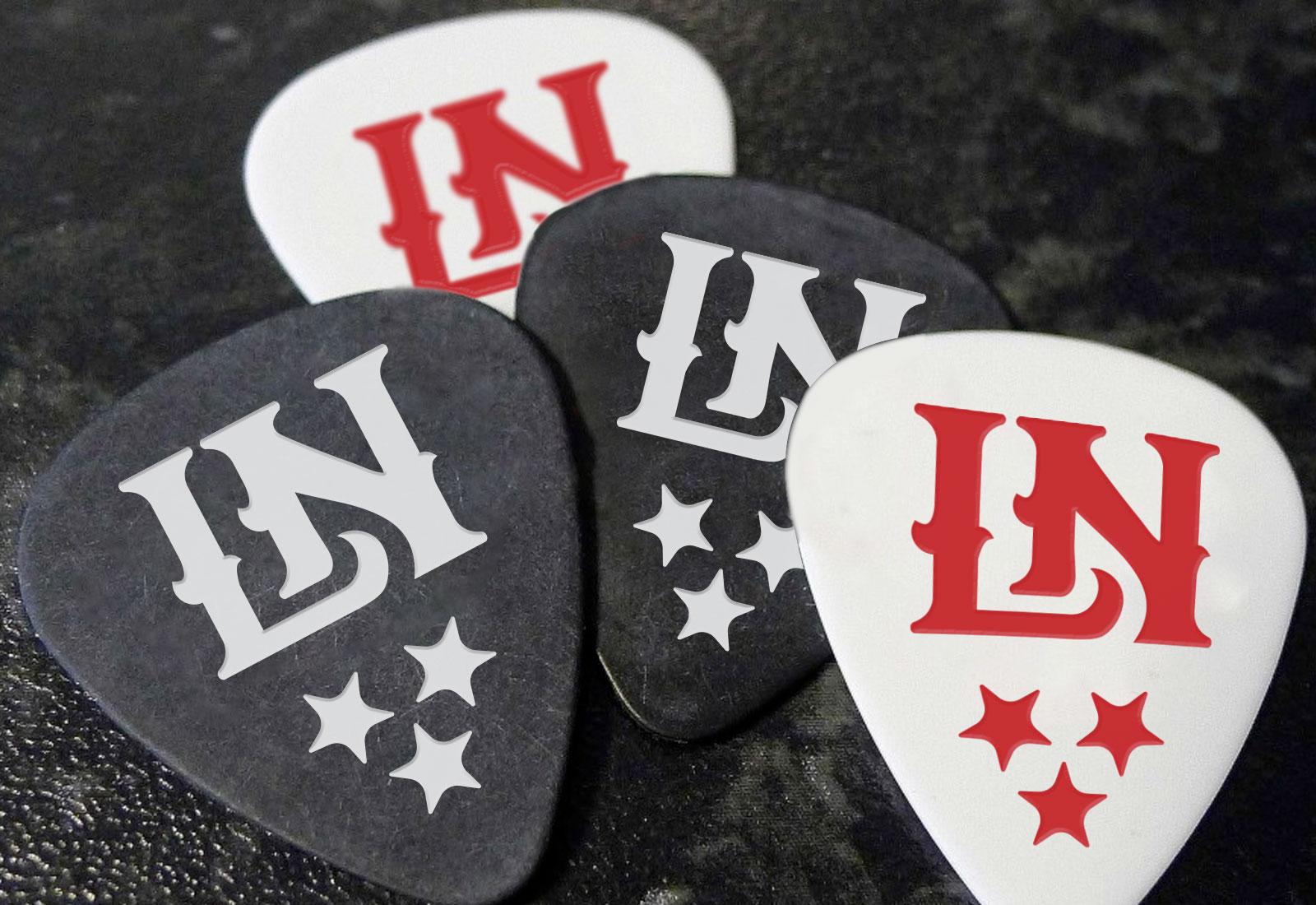 Custom Design Guitar Pics Little Nashville