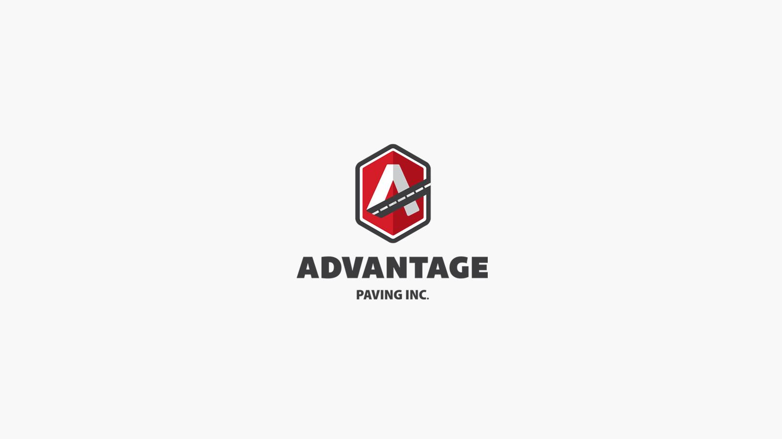 Advantage Paving Logo