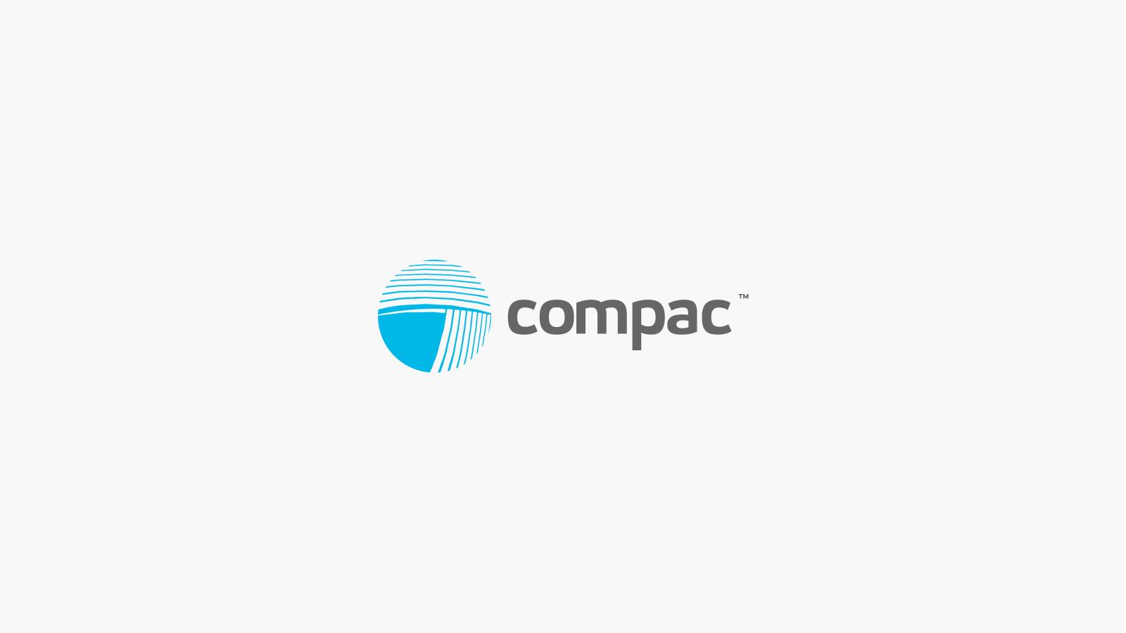 Com-Pac International Logo Redesign In Progress