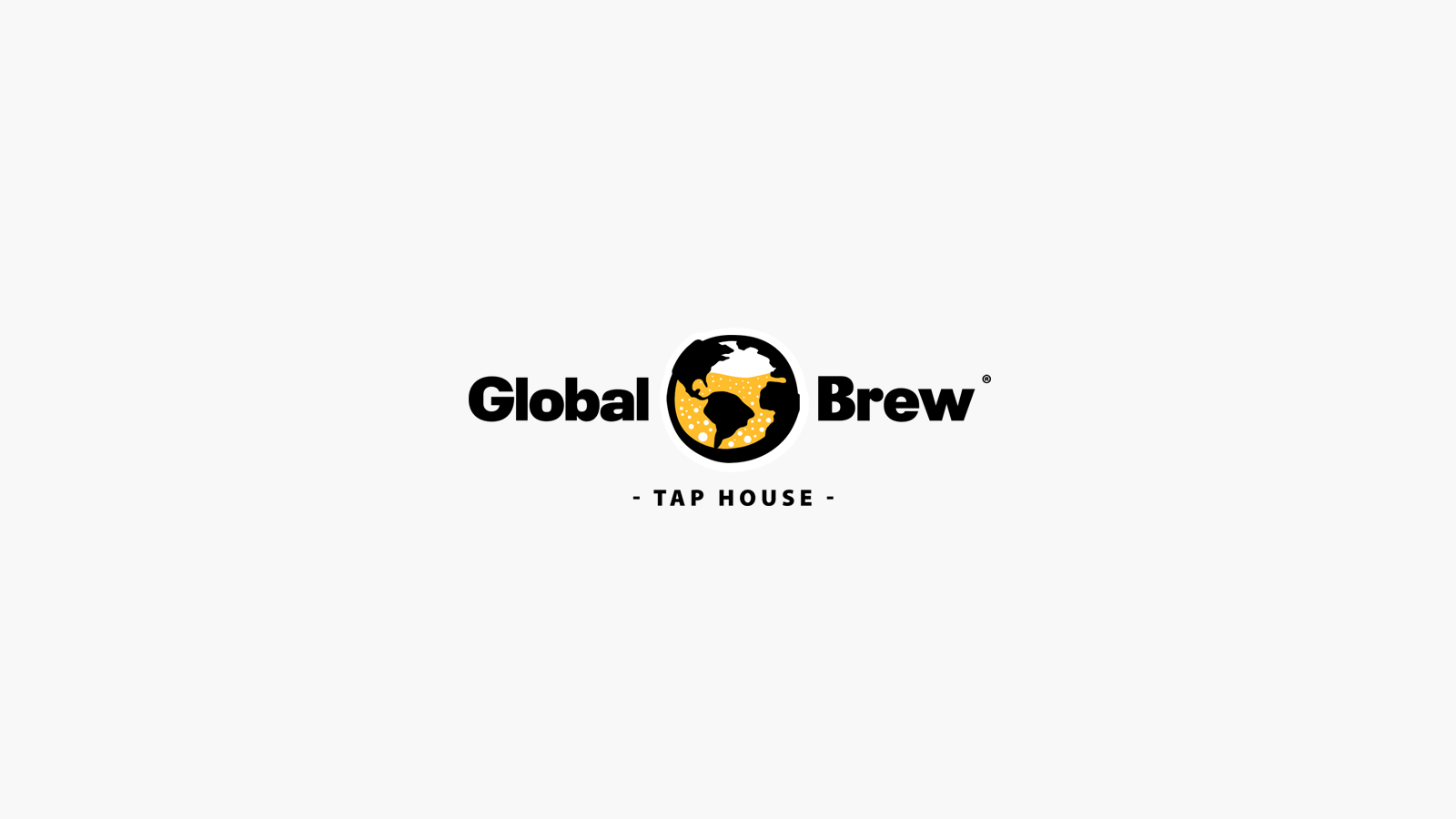 Global Brew Tap House Logo Redesign