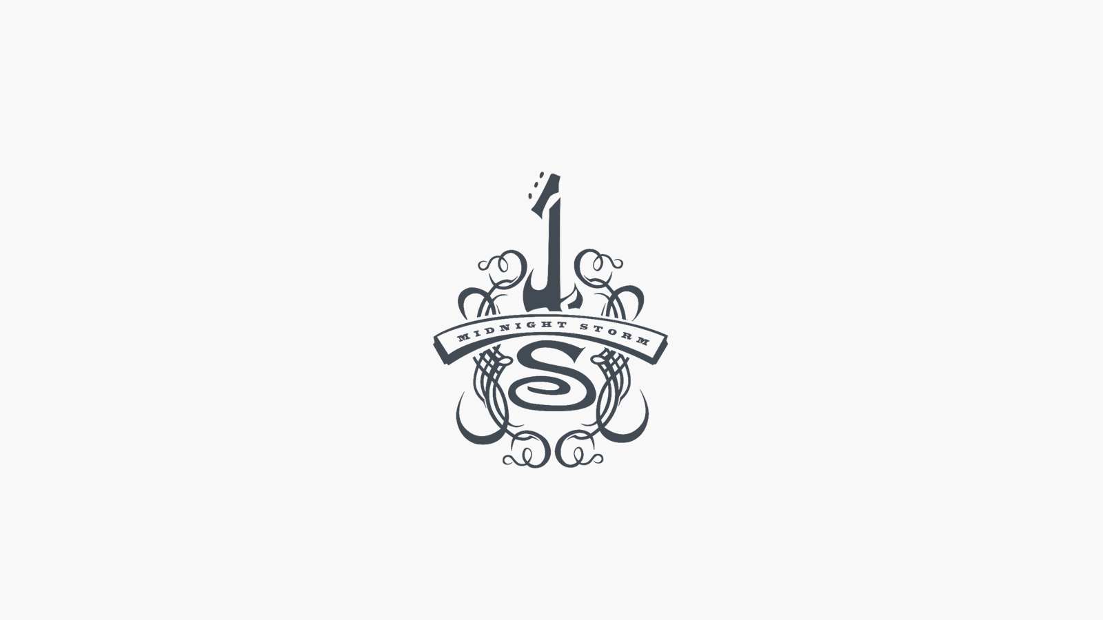 Midnight Storm Music Logo