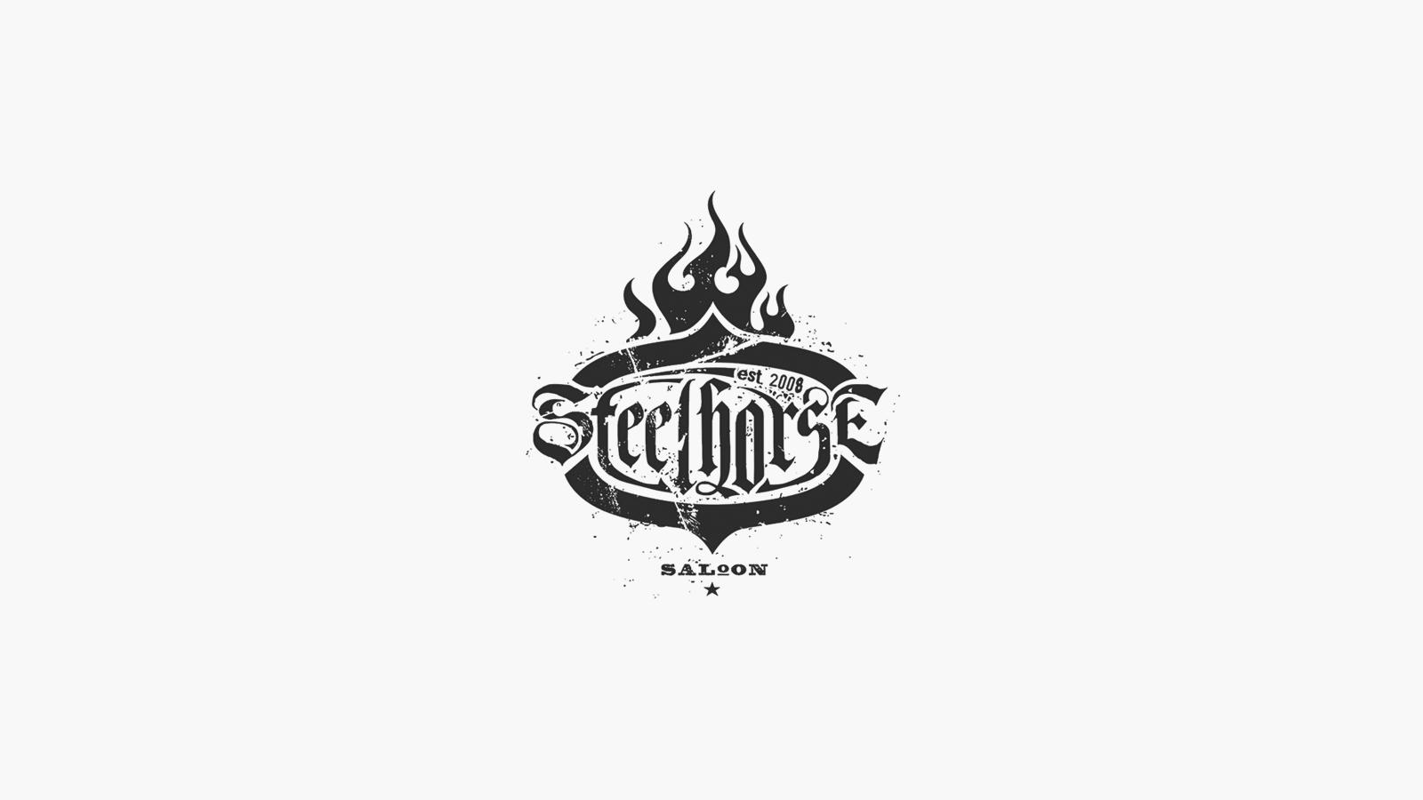 Steelhorse Saloon Logo