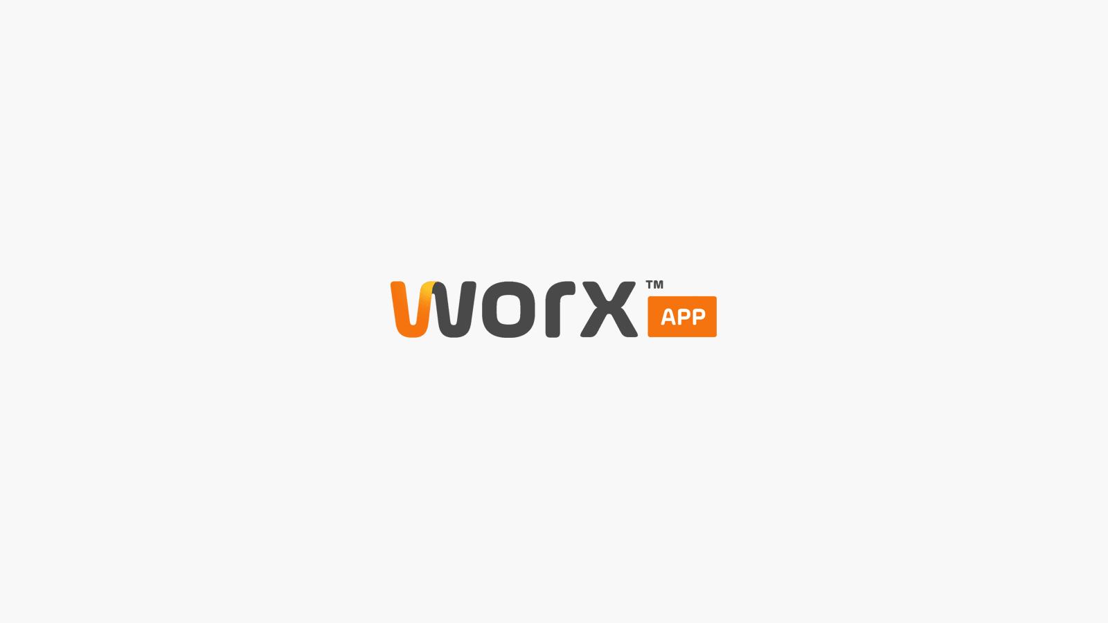 Logo Design for WorxApp App Development