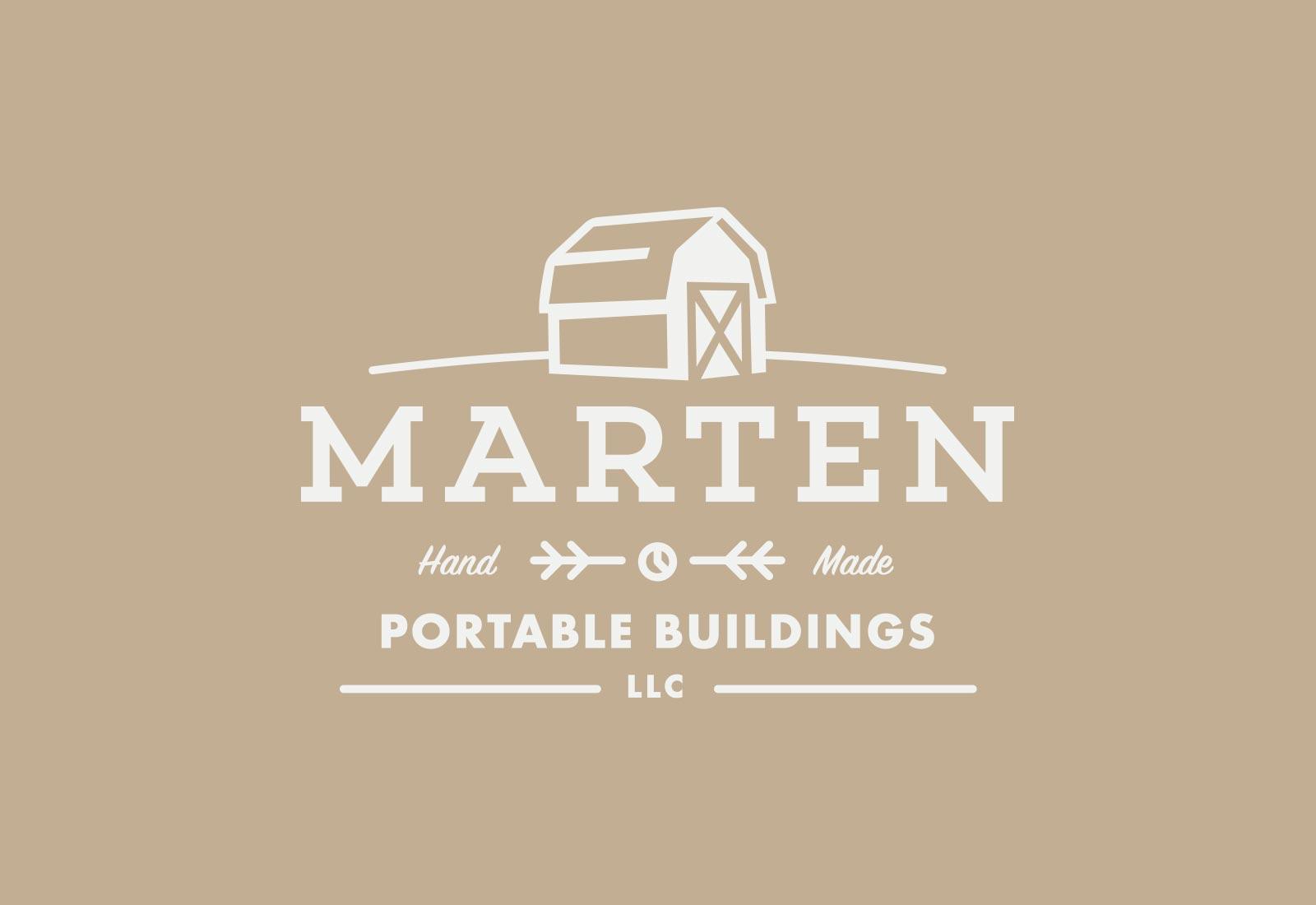Marten Portable Buildings Logo View 2