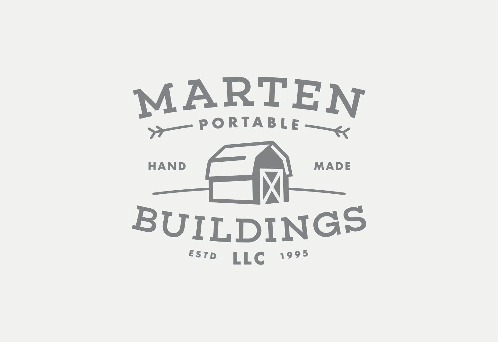 Marten Portable Buildings Logo