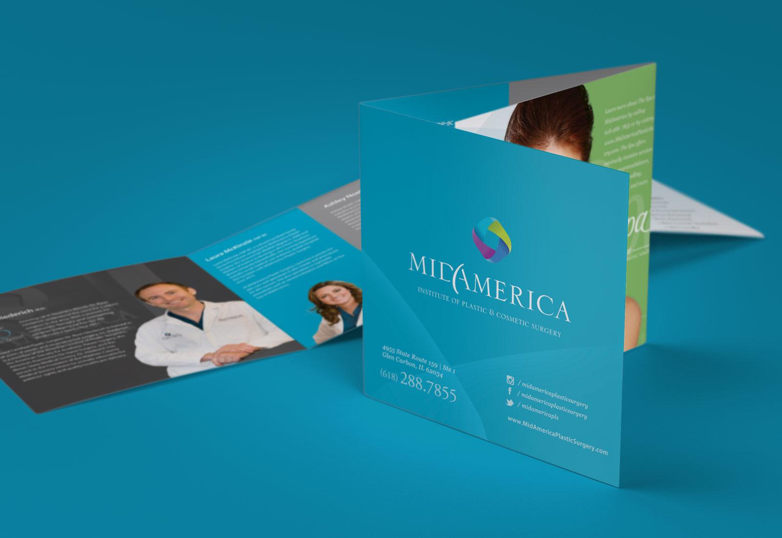 MidAmerica Plastic Surgery Custom 6X6 Brochure