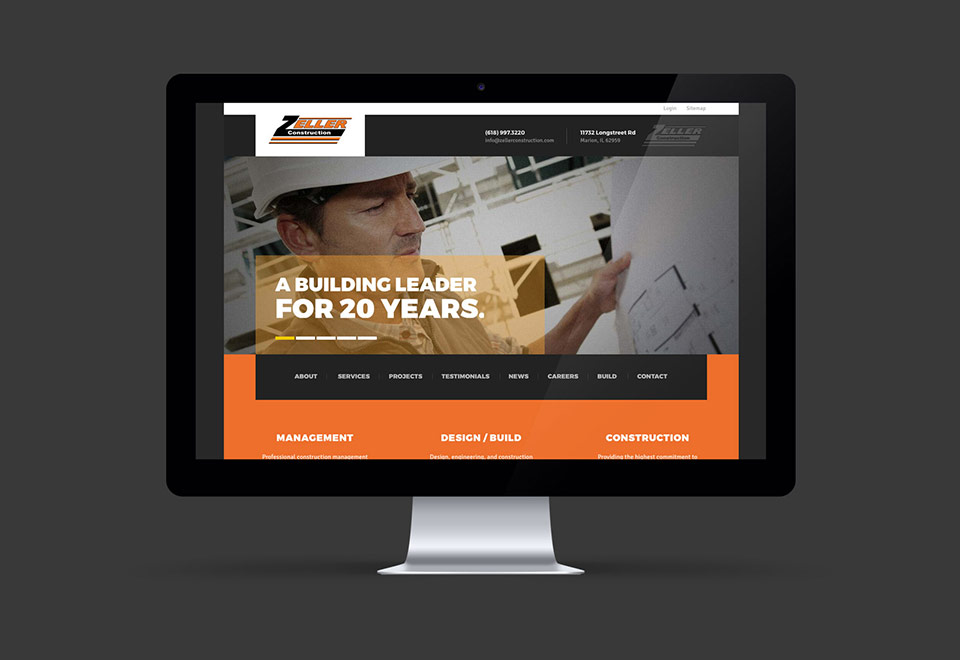 Construction Website Design