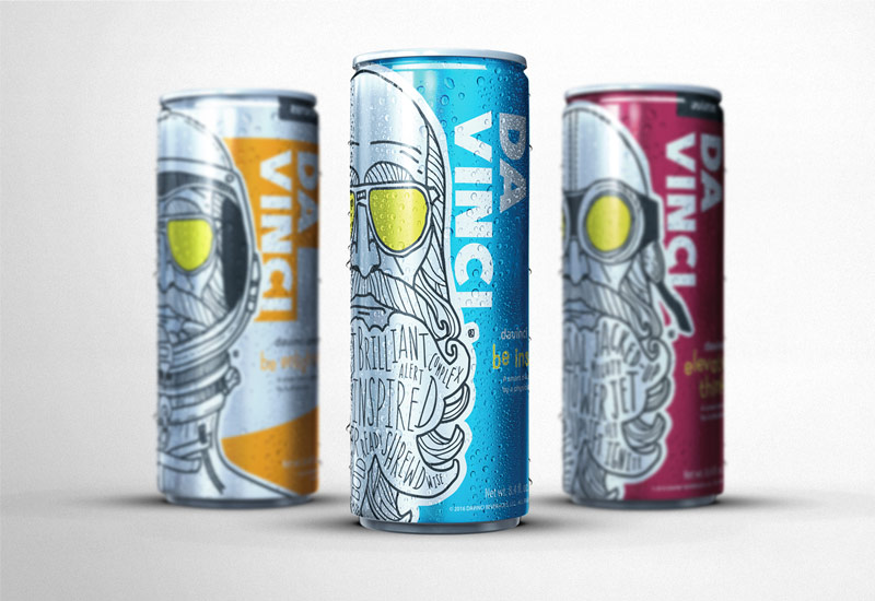 James Arthur Design Co DaVinci Smart Drink Feature Project
