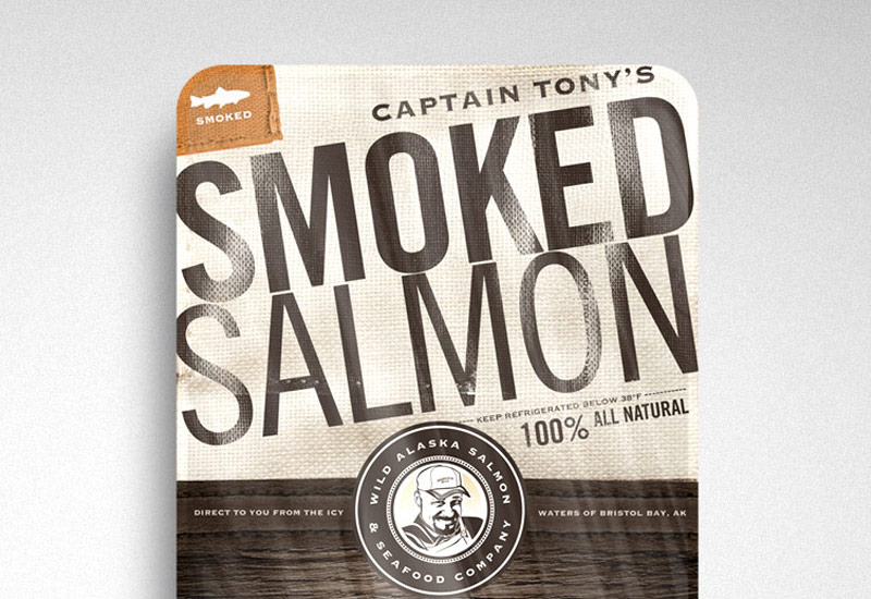 James Arthur Design Co Wild Alaska Salmon & Seafood Co Feature Project
