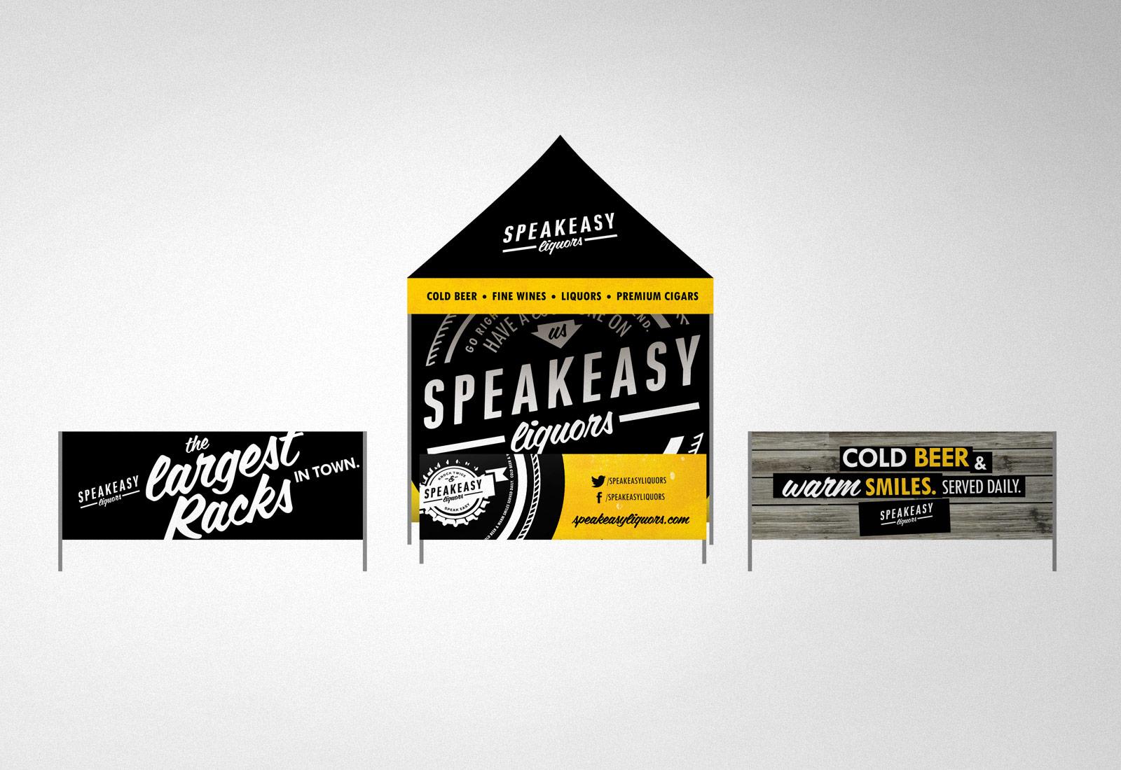 Speakeasy Liquors Event Tent