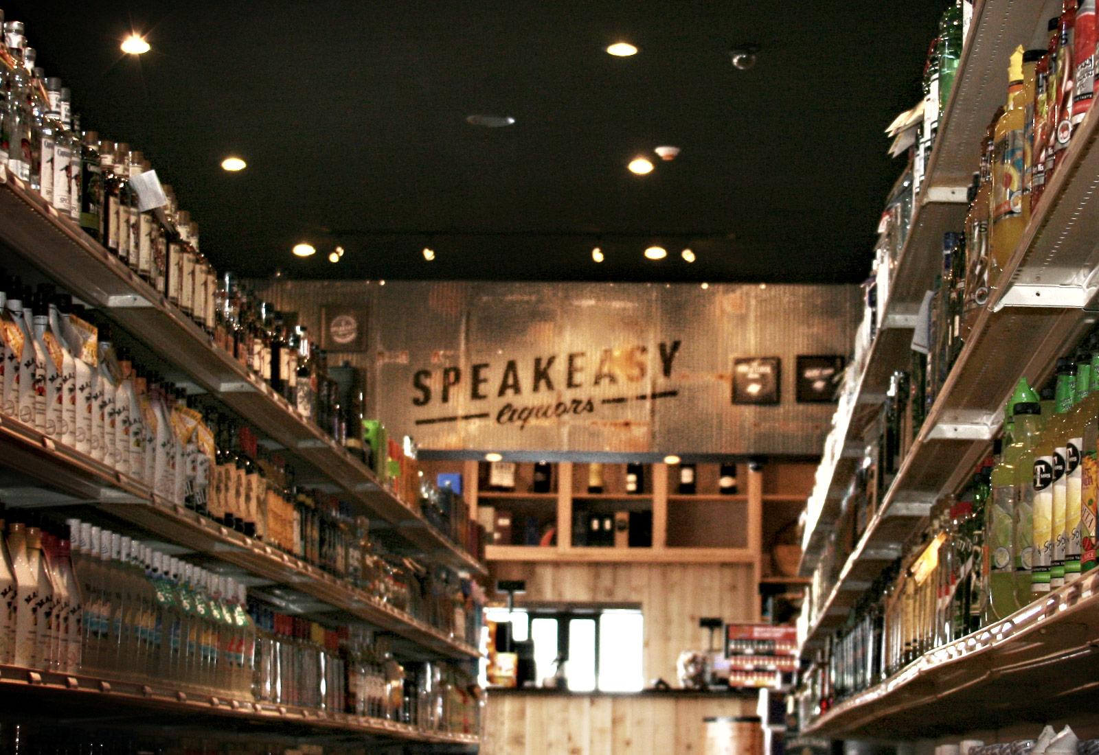 Speakeasy Liquors Interior