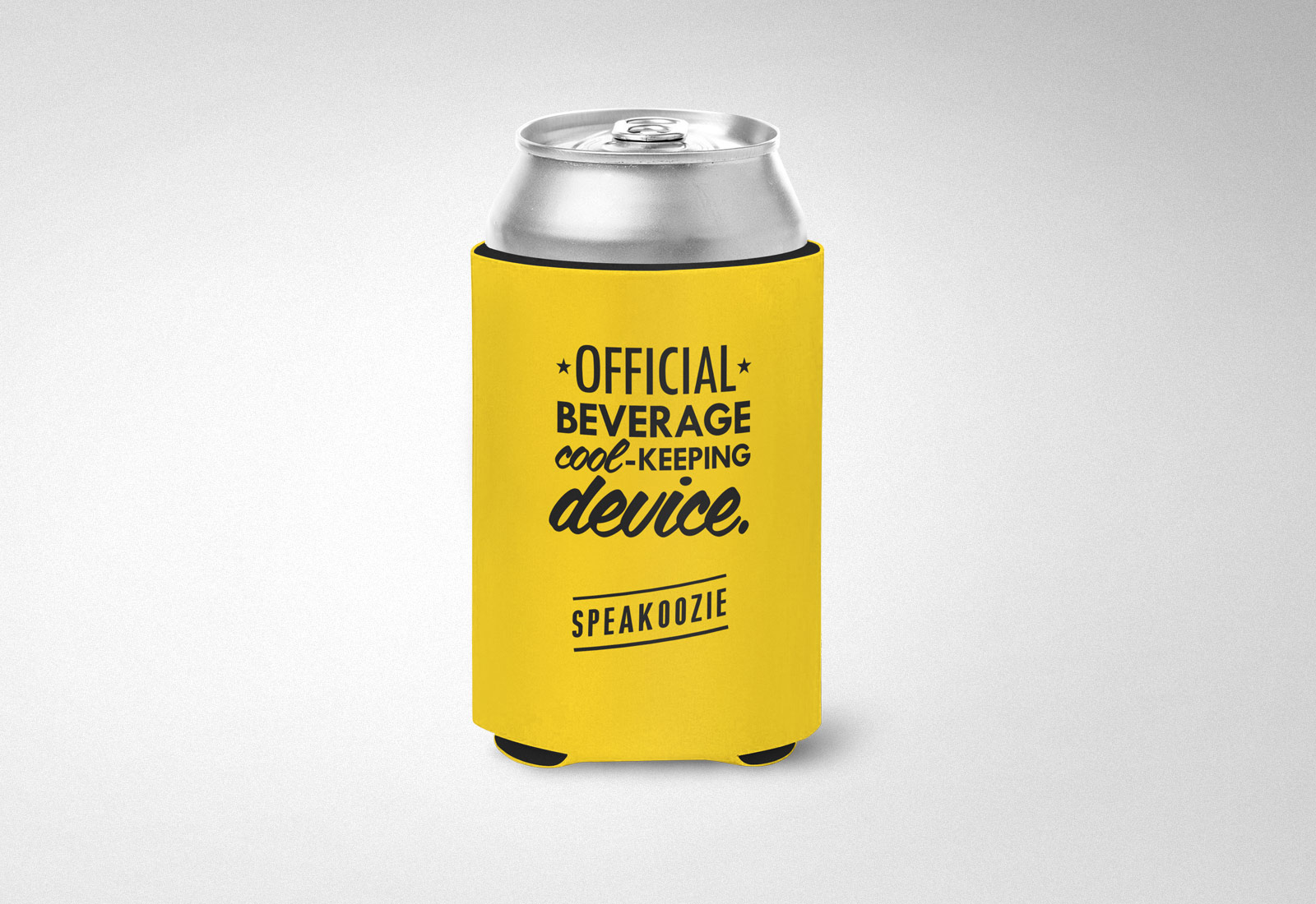 Speakeasy Liquors Beer Can Coozie