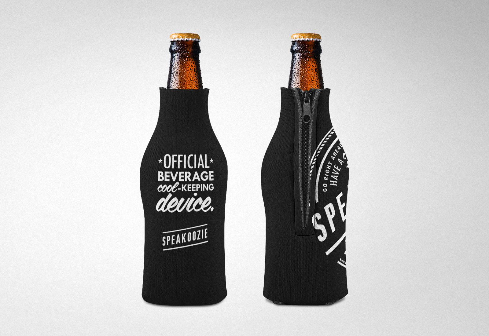 Speakeasy Liquors Custom Beer Coozie