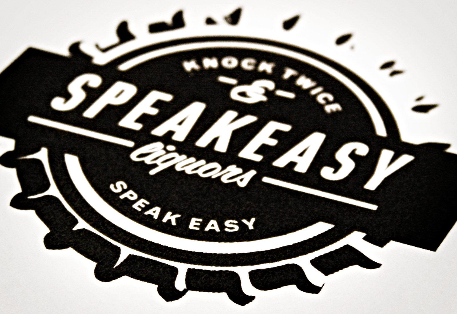Speakeasy Liquors Logo View 2