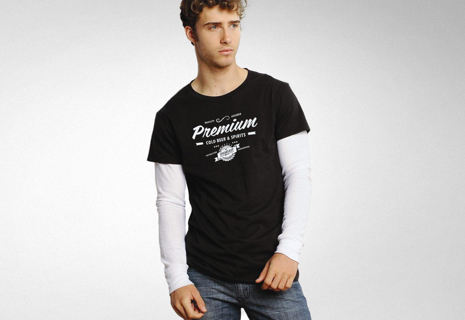 Speakeasy Liquors Tshirt Premium