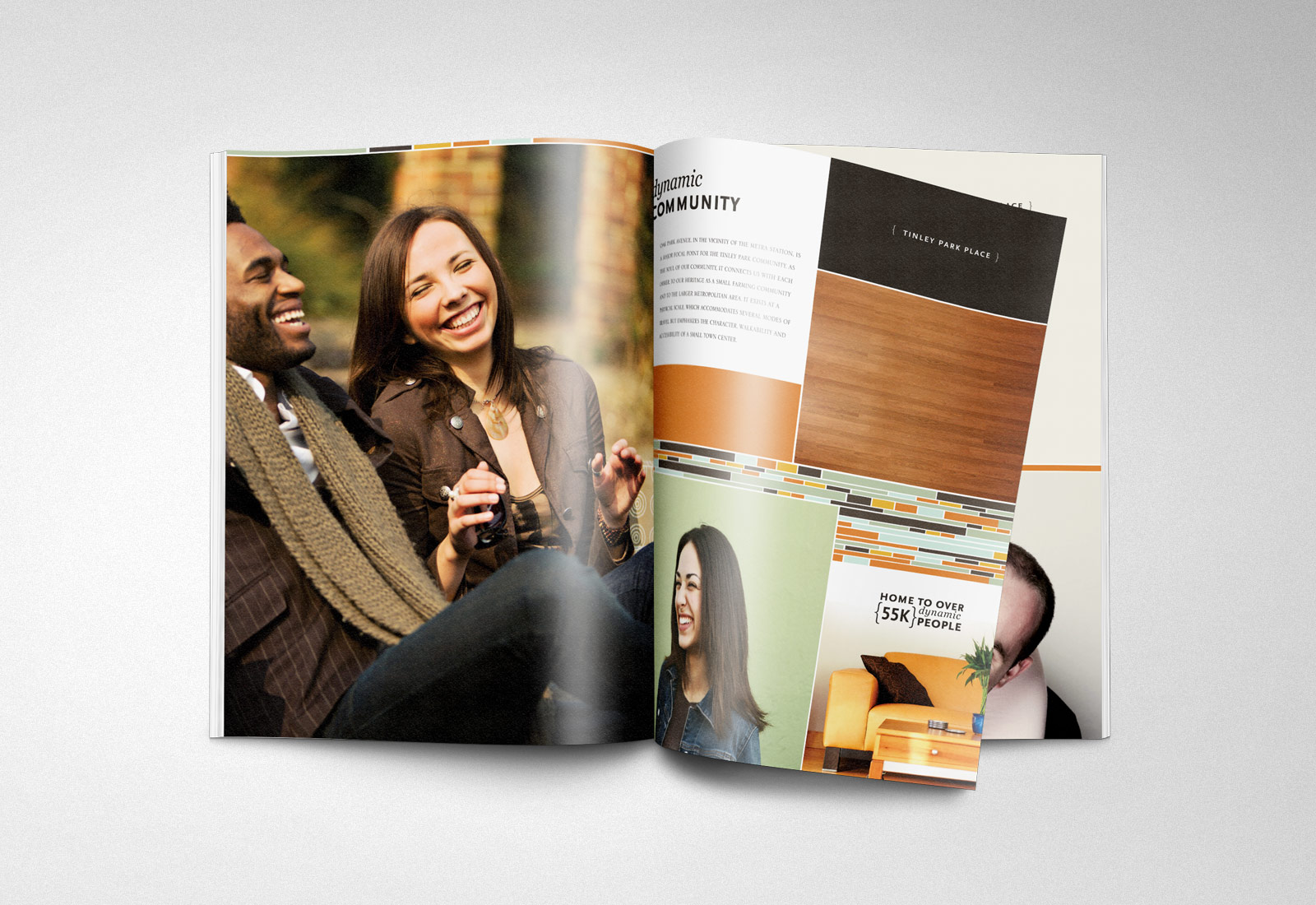 Tinley Park Place Brochure Spread