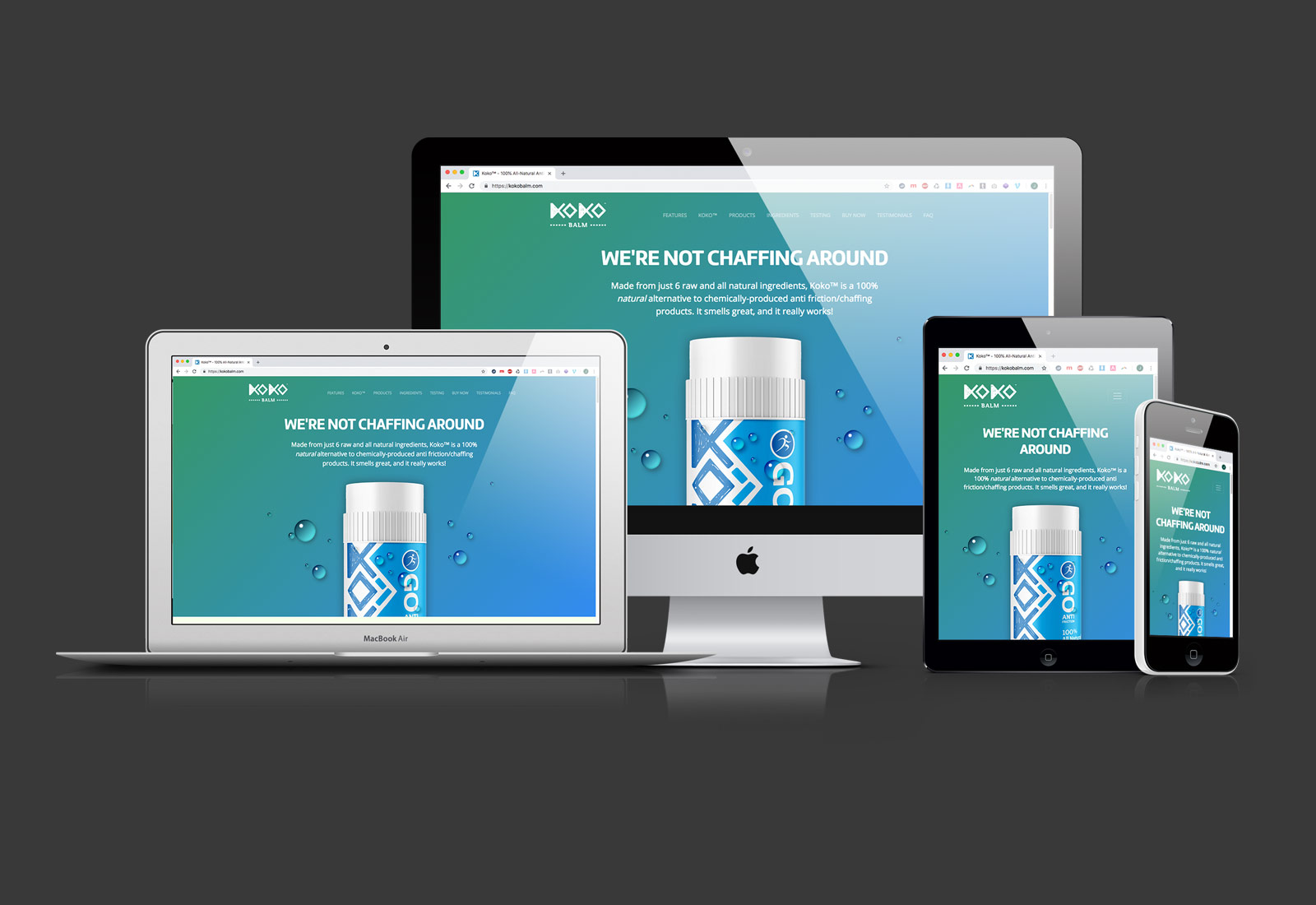 Kokobalm Website Design & Development