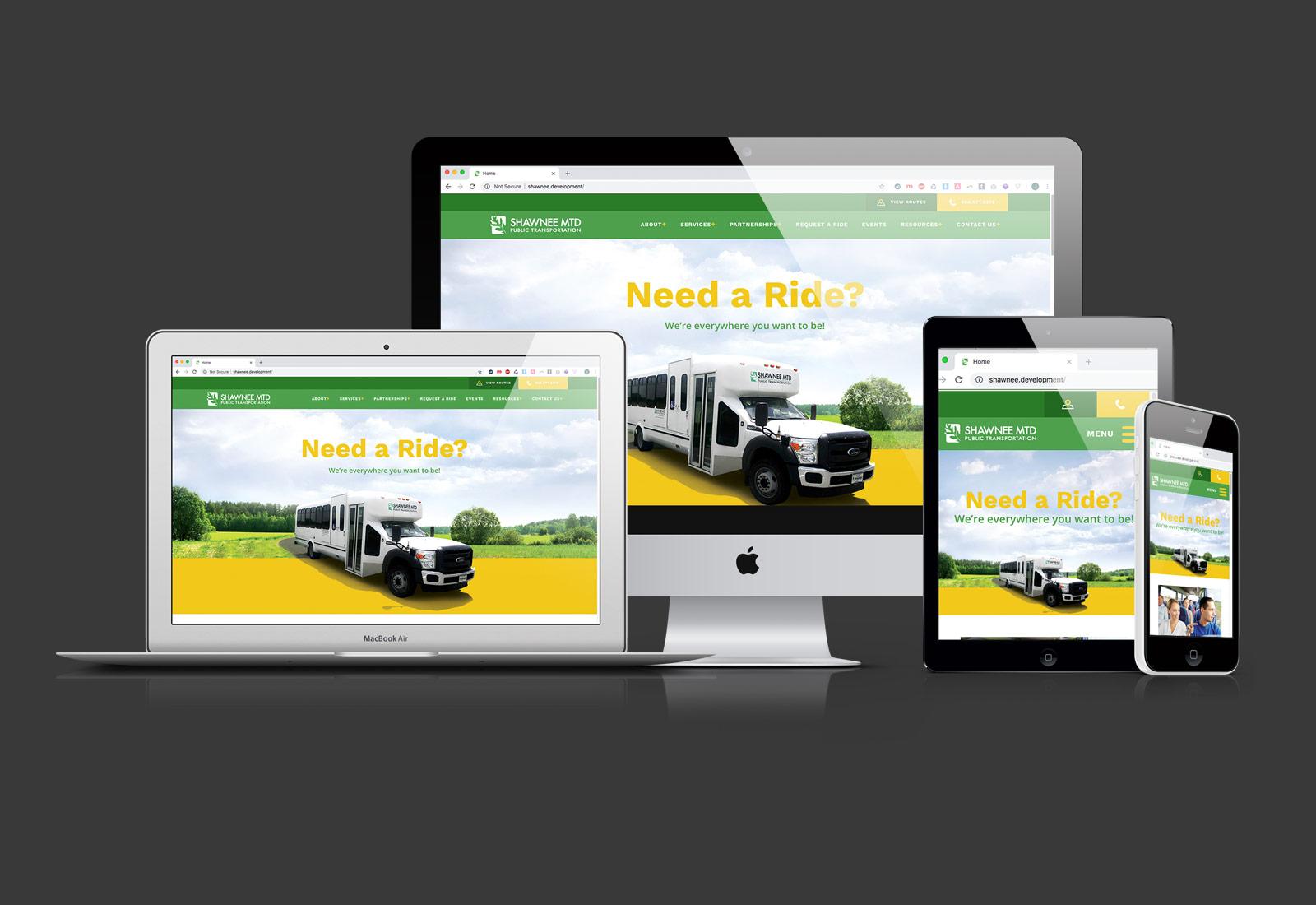 Shawnee Mass Transit District Website Design & Development