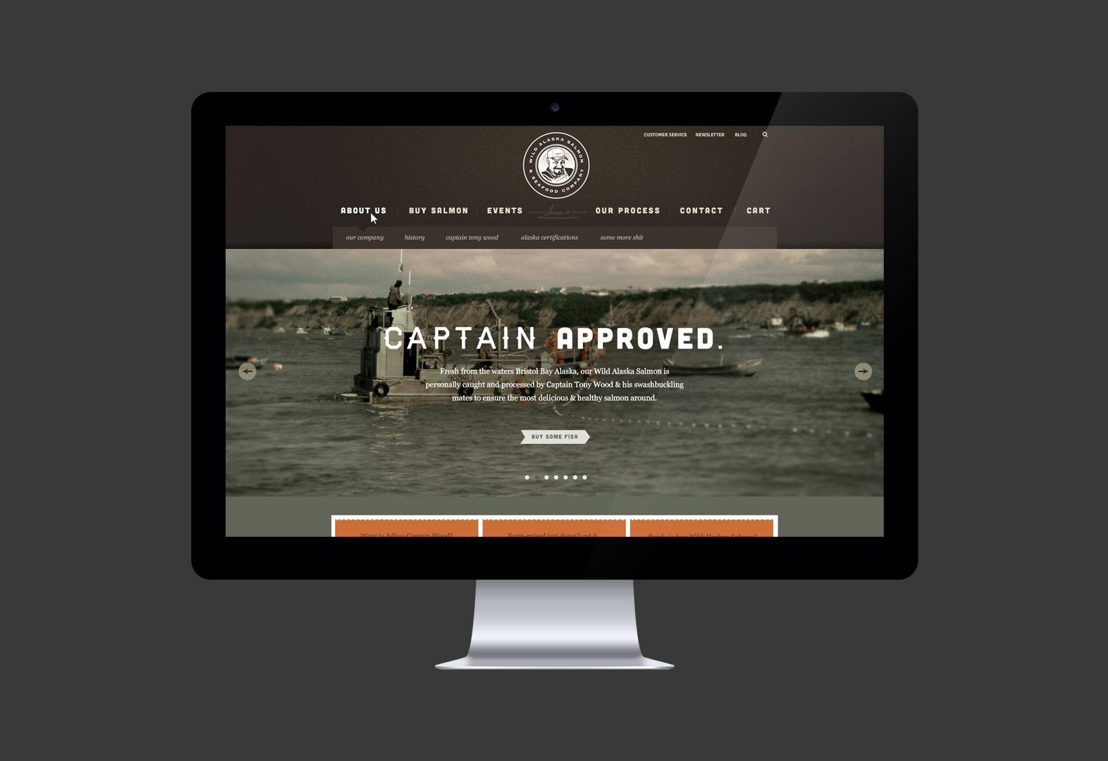 Wild Alaska Salmon & Seafood Website Design & Development