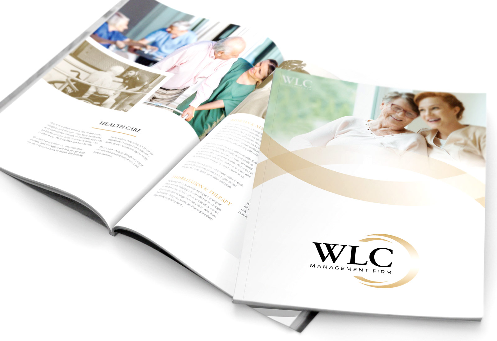 Assisted Living Senior Living Facility Brochure Design